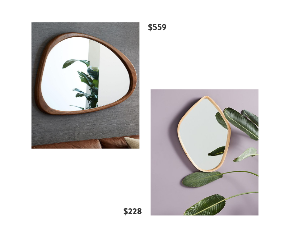 Seventh and Oak - Asymmetrical Mirrors - Save or Splurge