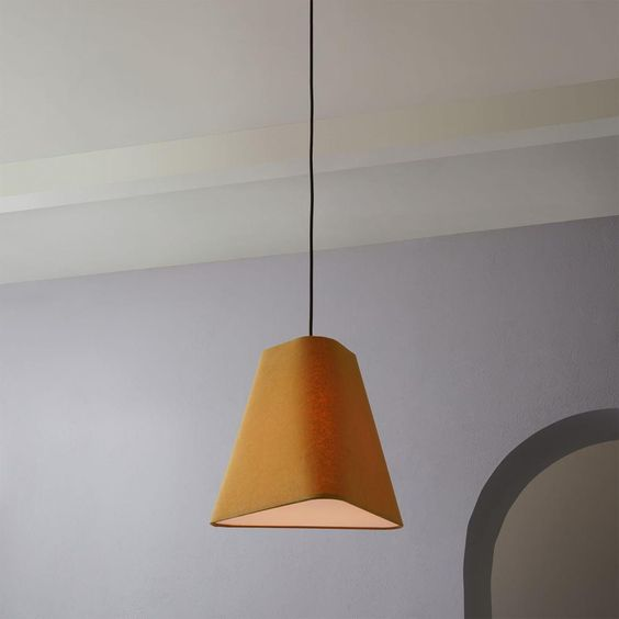 Fabric Geo Shade Pendant (Small) -   Was $181, Now $69.97