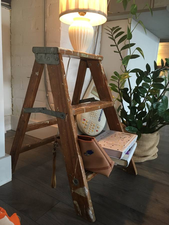 Seventh and Oak - Craigslist Finds - Vintage Step Ladder 2.jpg