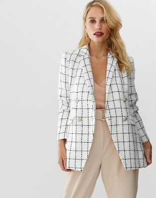 Seventh and Oak - Spring Wish List - Checkered blazer ASOS.jpg