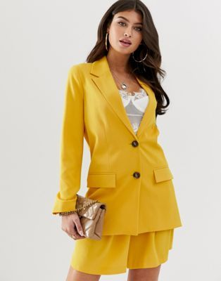 Seventh and Oak - Spring Wish List - Mustard blazer ASOS.jpg