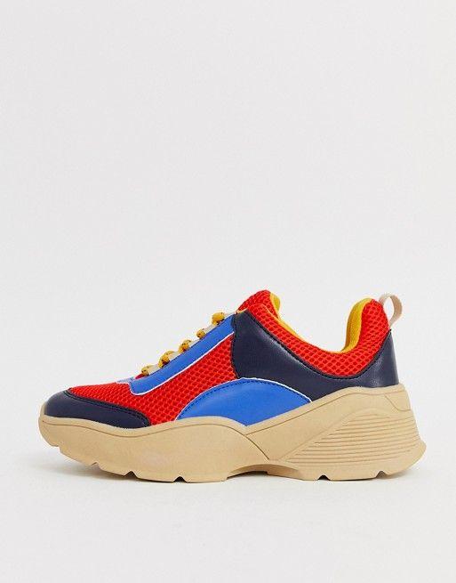 Seventh and Oak - Spring Wish List - Monki Colorblock Sneakers ASOS 2.jpg
