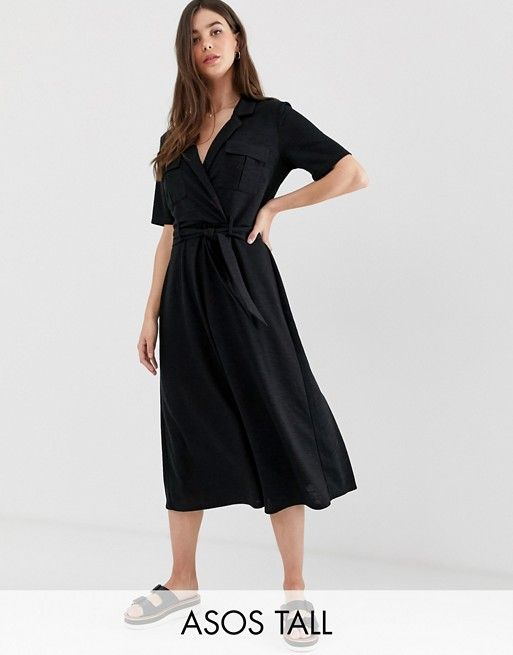 Seventh and Oak - Spring Wish List - Tall belted Midi Dress ASOS.jpg