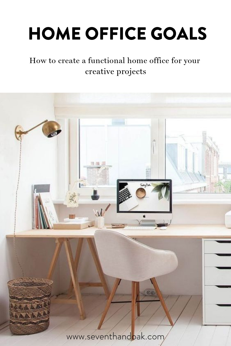 Home Office Goals: Creating A Functional Home Office for Your Creative Projects