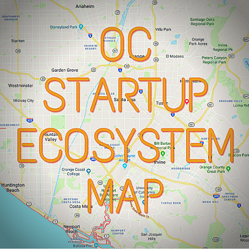 OC Startups Map Ecosystem