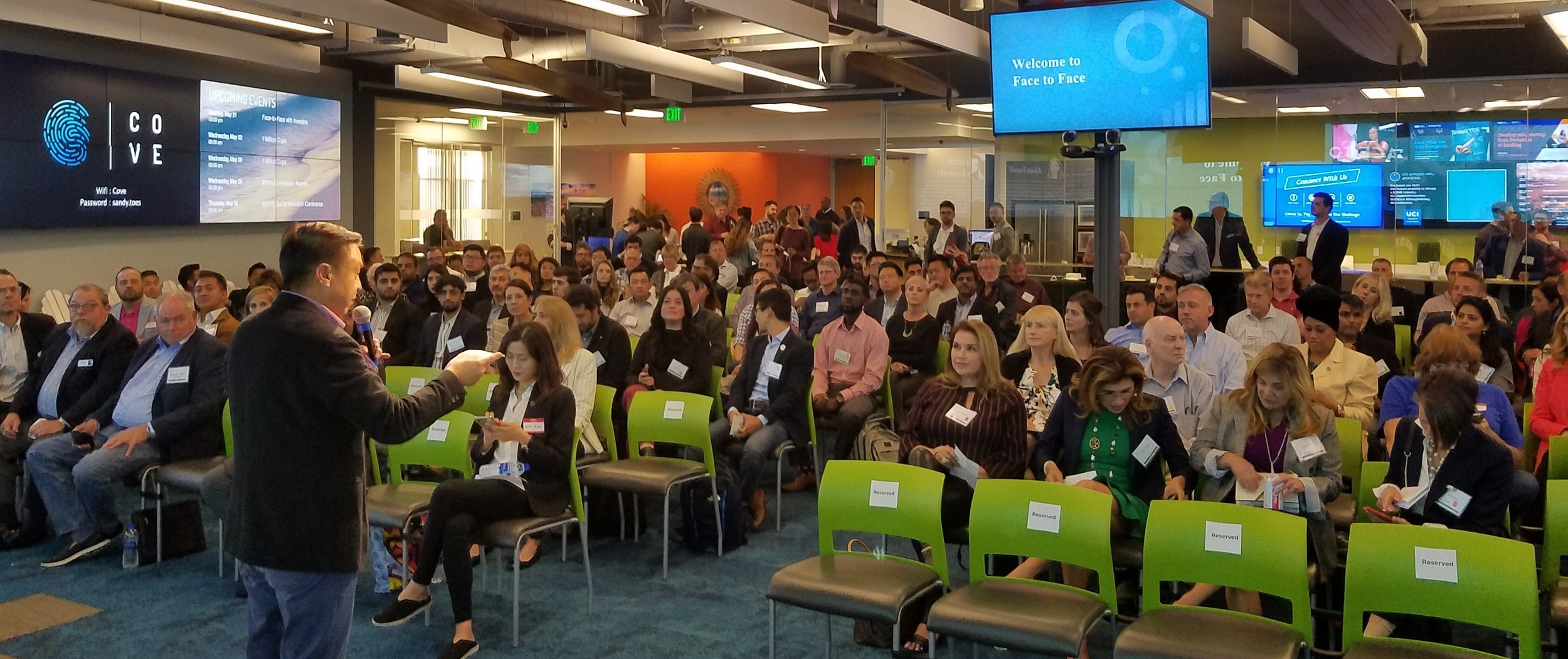 Events for High Tech Software Startups Irvine Orange County California
