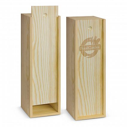 Wooden Wine Box  No minimum order quantity.  Contact for quote