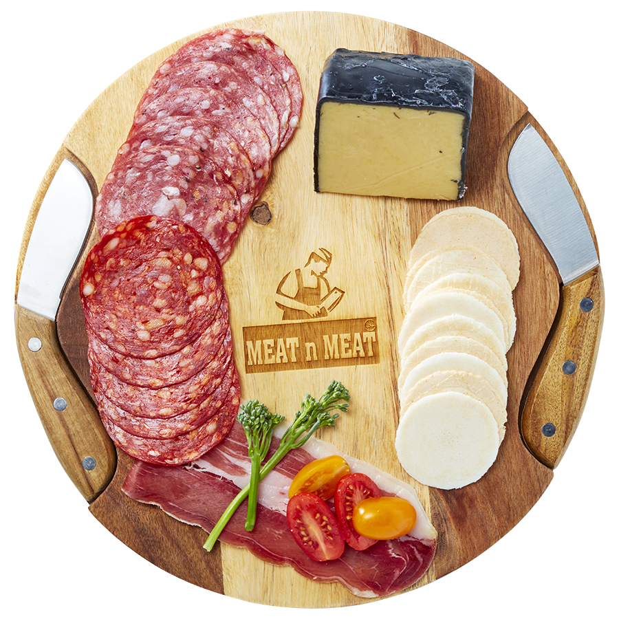 Soroba Cheeseboard & Knife Duo  Minimum order 10 units.  Contact for quote  Check out more cheeseboards in our  new corporate gift section