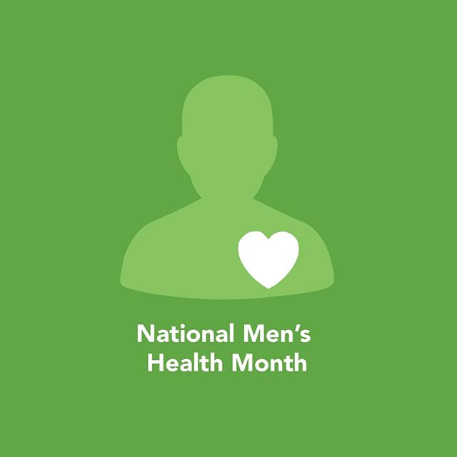 The month of June is Men's Health Month. The purpose of Men's Health Month is to heighten the awareness of preventable health problems and encourage early detection and treatment of disease among men and boys.