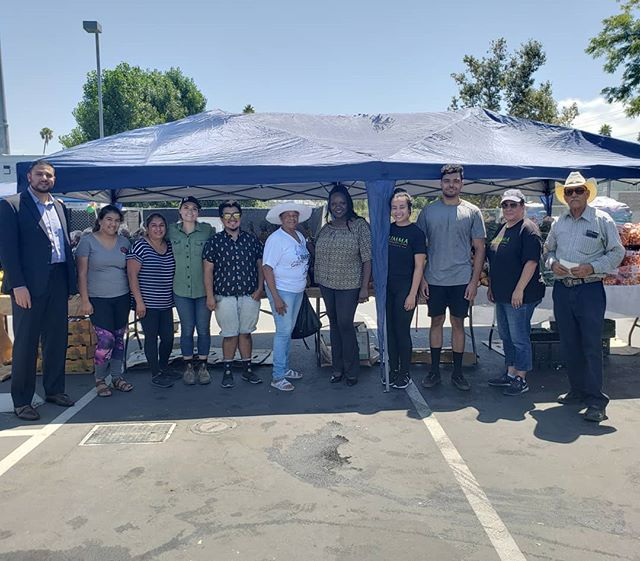 Appreciation post! Thank you to our brilliant team of volunteers for organizing today's Food fair at Fremont