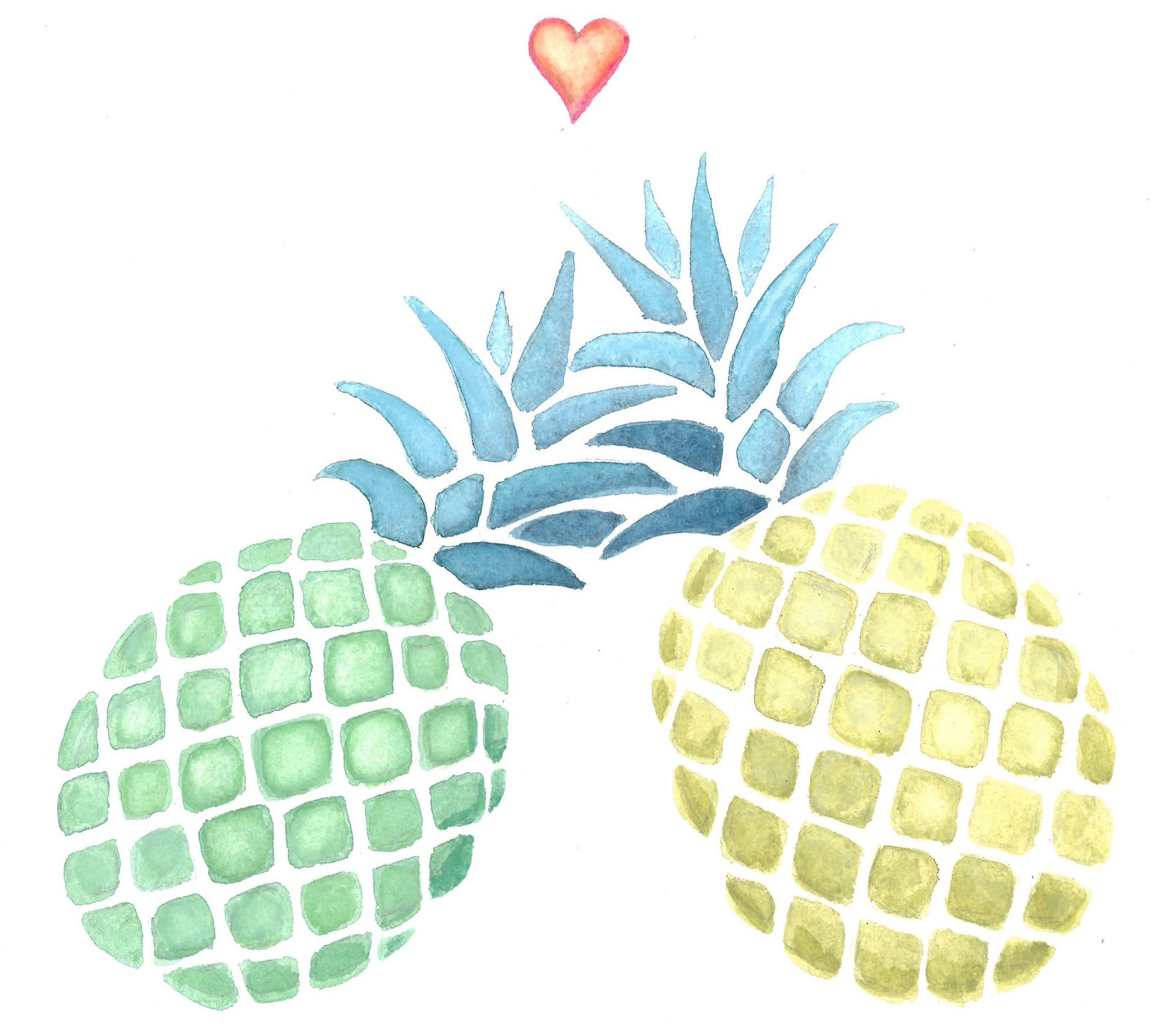 wedding pineapples