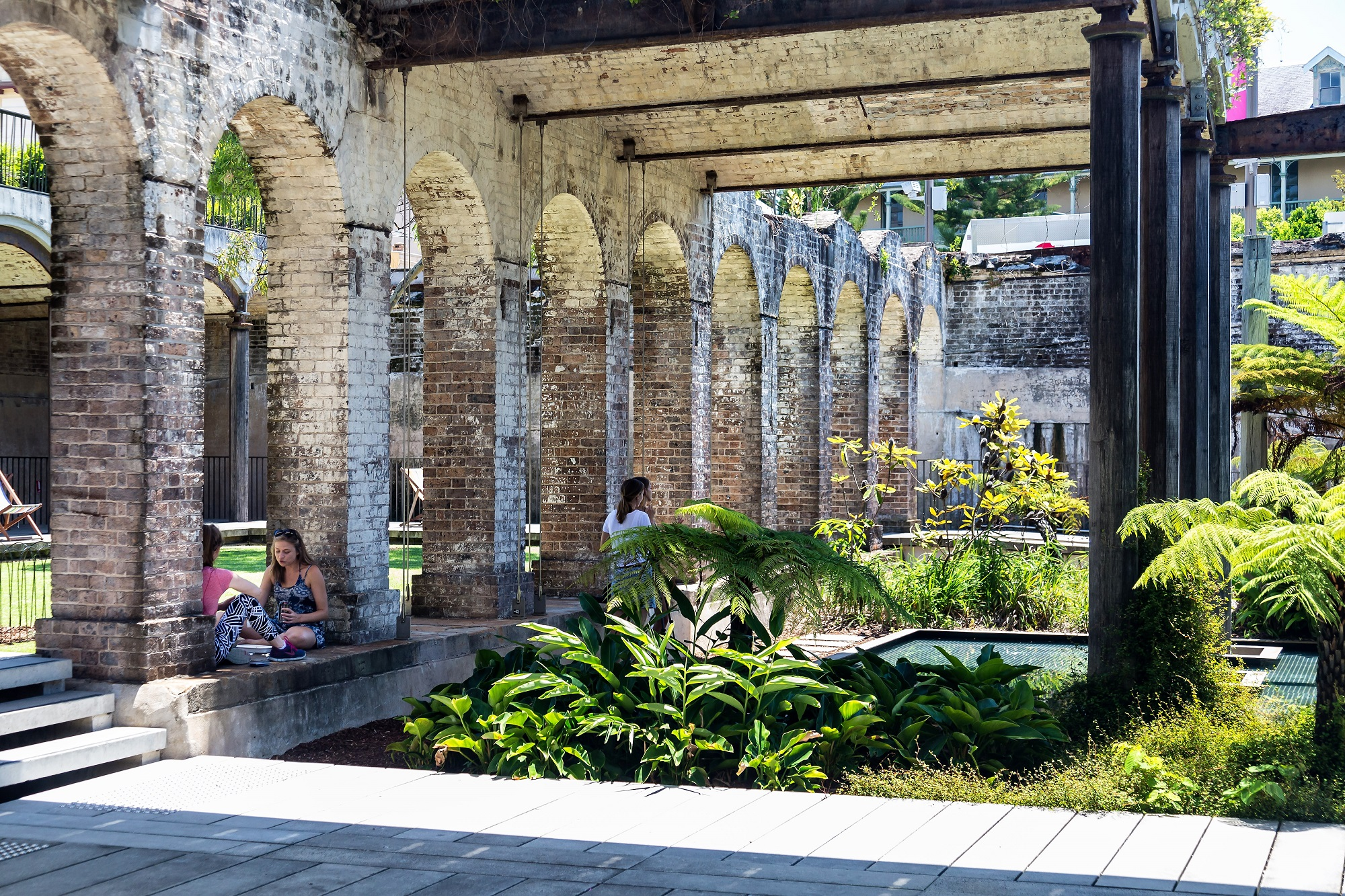 Sydney Paddington reservoir gardens