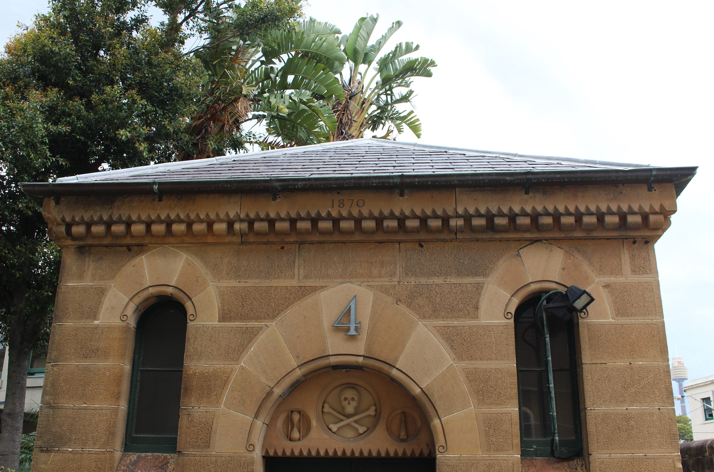 Sydney sandstone building at Sydney National Art School