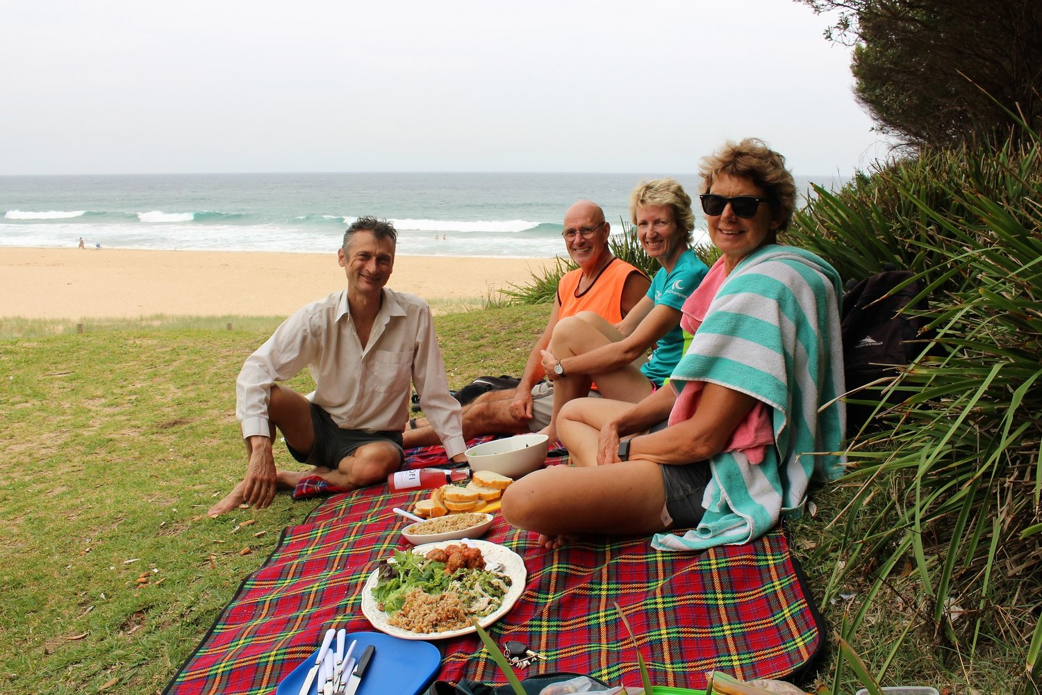 A Beach Picnic at Garie - We had a fantastic day out with Sydney Nimble Tours! It more than exceeded our expecations. Our tour guide Greg was very affable and knowledgeable pointing out interesting things that we would not have noticed otherwise. The picnic lunch provided was delicious. We highly recommend Sydney Nimble Tours.Fran from Holland November 2018