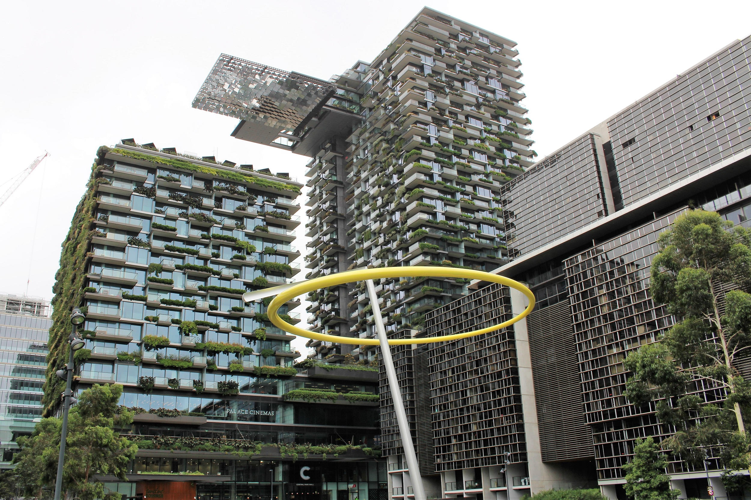Buildings don't get any greener than Central Park, Chippendale