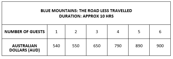 Blue Mountains Less Travelled pricing.jpg