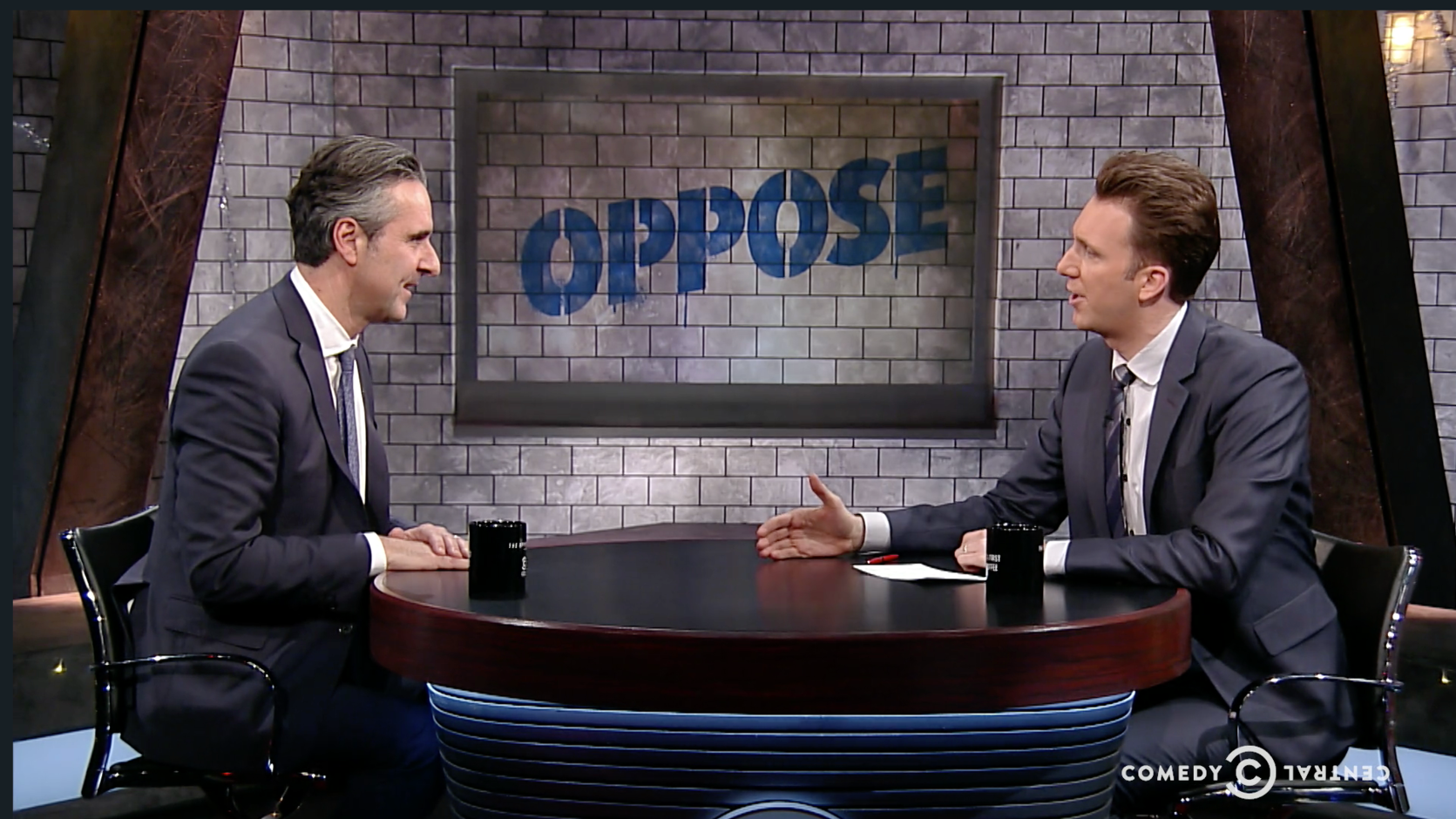 John Della Volpe appears on Comedy Central's The Opposition with Jordan Klepper, to discuss his recent Harvard Kennedy School IOP poll of young Americans and the finding that while they prefer a Democratic Congress, only one-third indicated that the party cares about people like them.