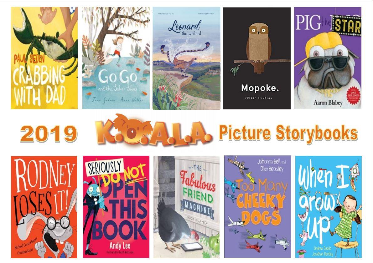 2019 KOALA Picture Story Books.JPG