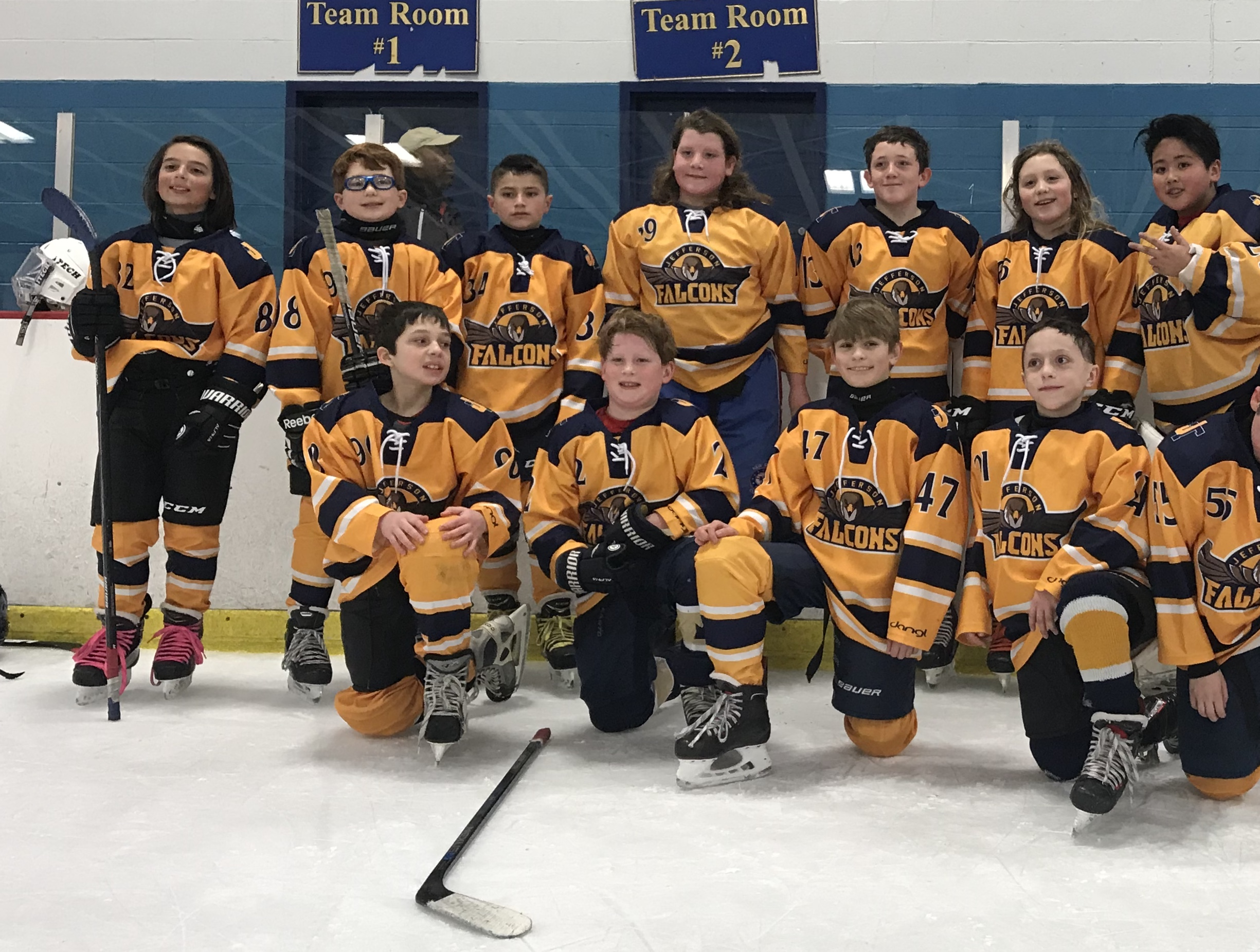2018-2019 Peewee Division B 2nd place