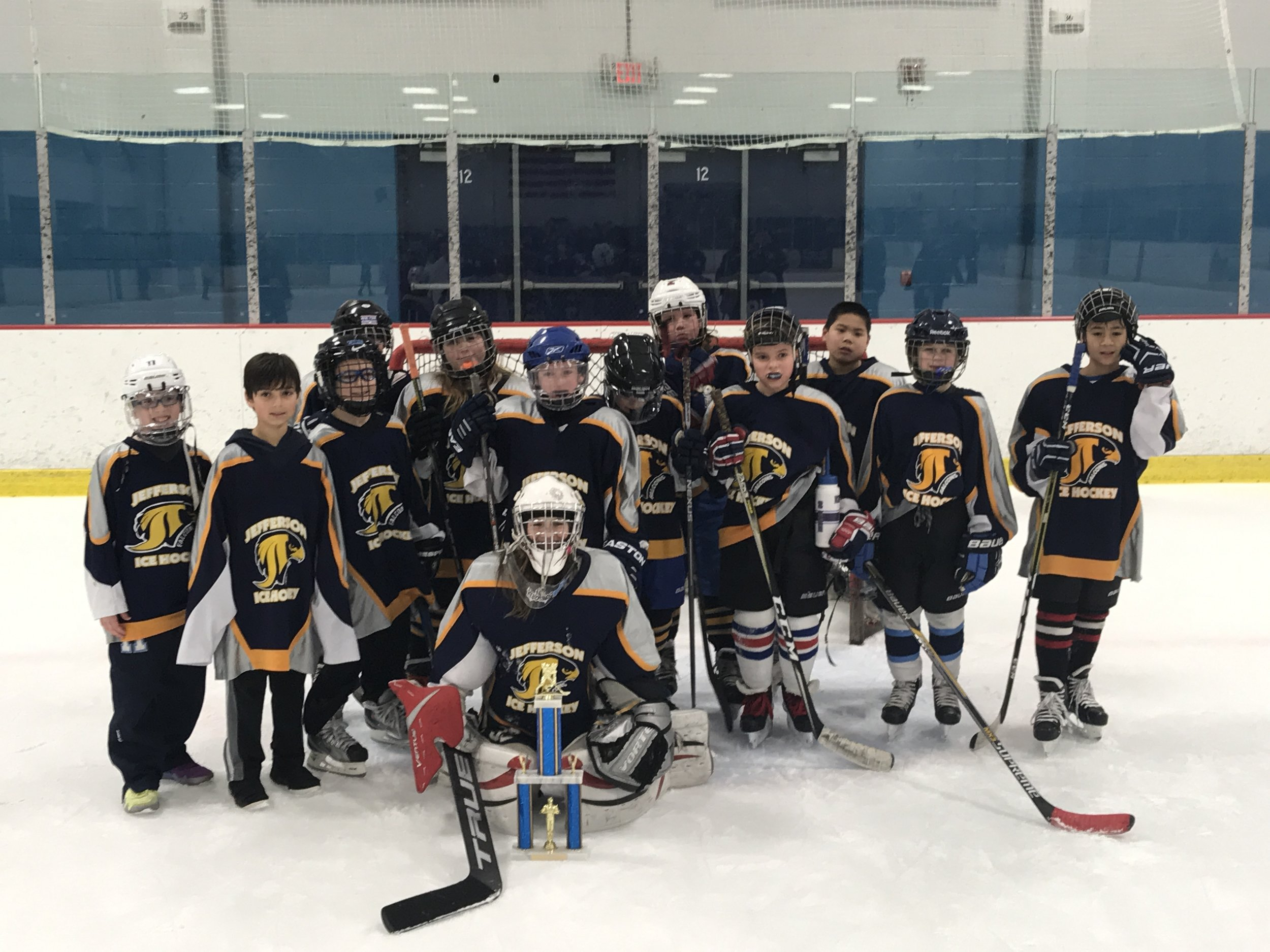 2017-2018 Peewee 2nd place