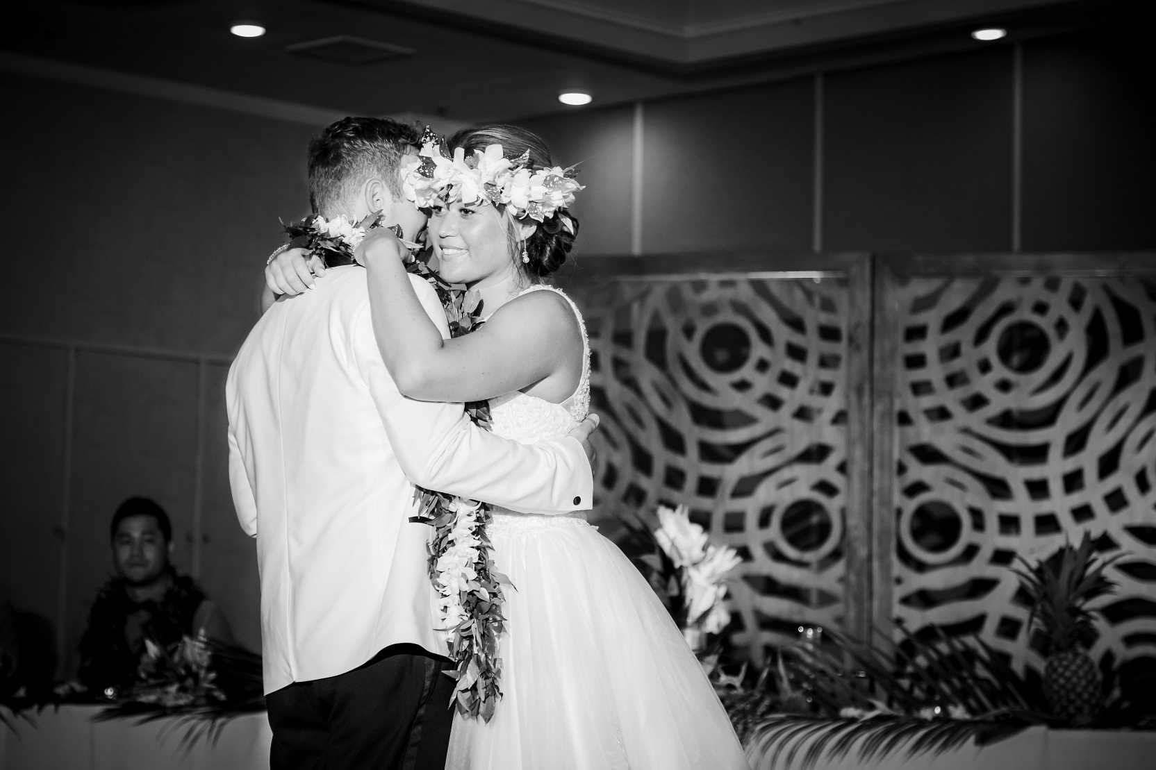 first dance bride groom wedding reception