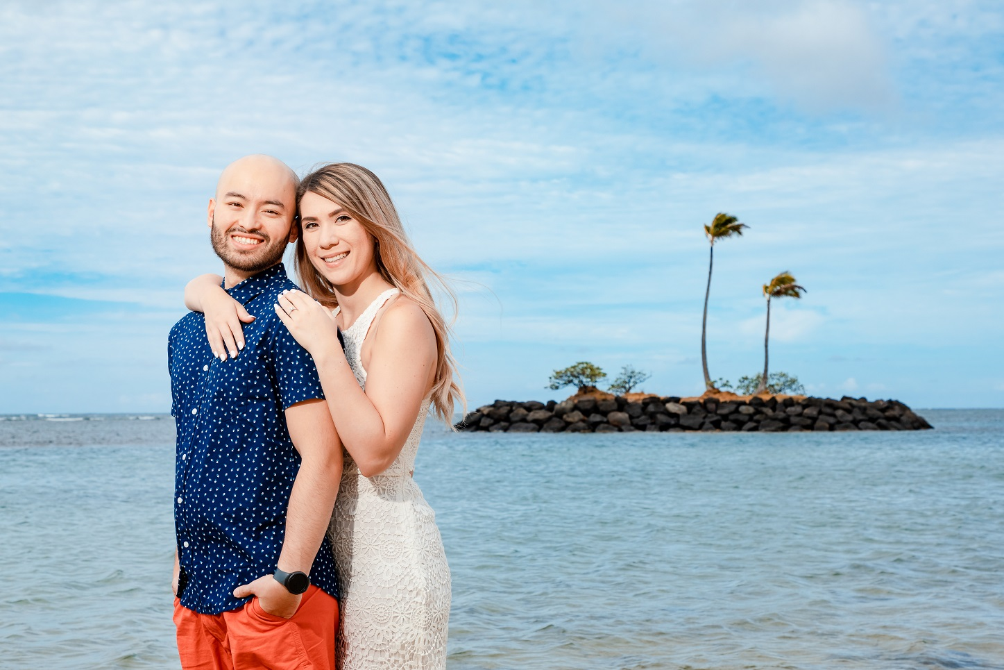 oahu engagement photographer session