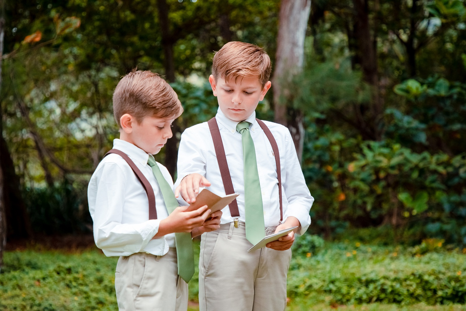 Ring bearers, natural light only