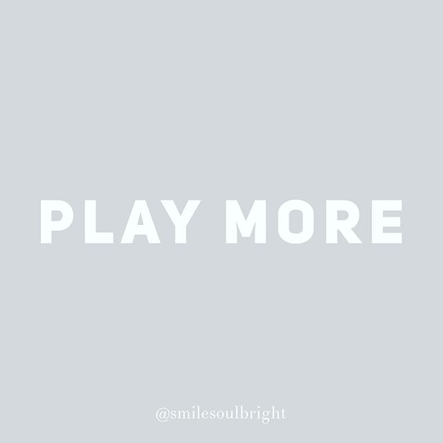 "my life goal-play more ⠀ ⠀ I grew up as a very serious child. Focused on ""success"", excelling in sports and getting straight As in school.⠀ In college I started to explore ways of having more fun. It's progressively been my goal. Sometimes I get distracted, focused on performing well in my job, getting to the next goal and achievement. ⠀ What I've realized is the more I have fun the faster I reach my goals. And the more fun I have along the way. Shocking, I know! I'm always looking for ways I can ""play"" within my work day. Perhaps that's a handstand in between client meetings or a little solo dance party. ⠀ I also make play time a priority on the weekends. It's a chance for me to recharge and truly embrace this thing called life. I'll continue to find more ways to play. ⠀ ⠀ #playmore #havemorefun #onelife #smilesoulbright #soulbright #quoteoftheday #lifecoach #encinitas #sandiego #lifegoals #miraclemorning #upwla2019  #spiritualgangster #inspiration #goals #lifestyle #loveyourself #personaldevelopment #meditation #instagood #spirituality #mentor #fitness #health #mindfulness #selfhelp #business #empowerment #motivationalspeaker #selfcare"