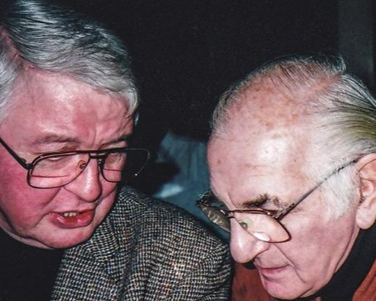 Ken with Ronnie Scott