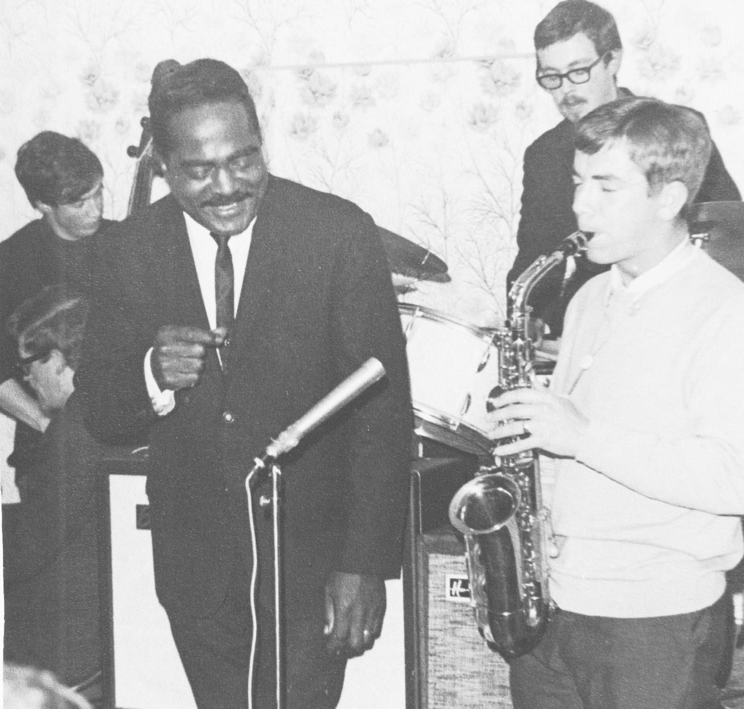 Jimmy Witherspoon with Pat Crumly (alto) Brian Priestley (p) Stan Johnstone (bs) and Spike Wells (d)
