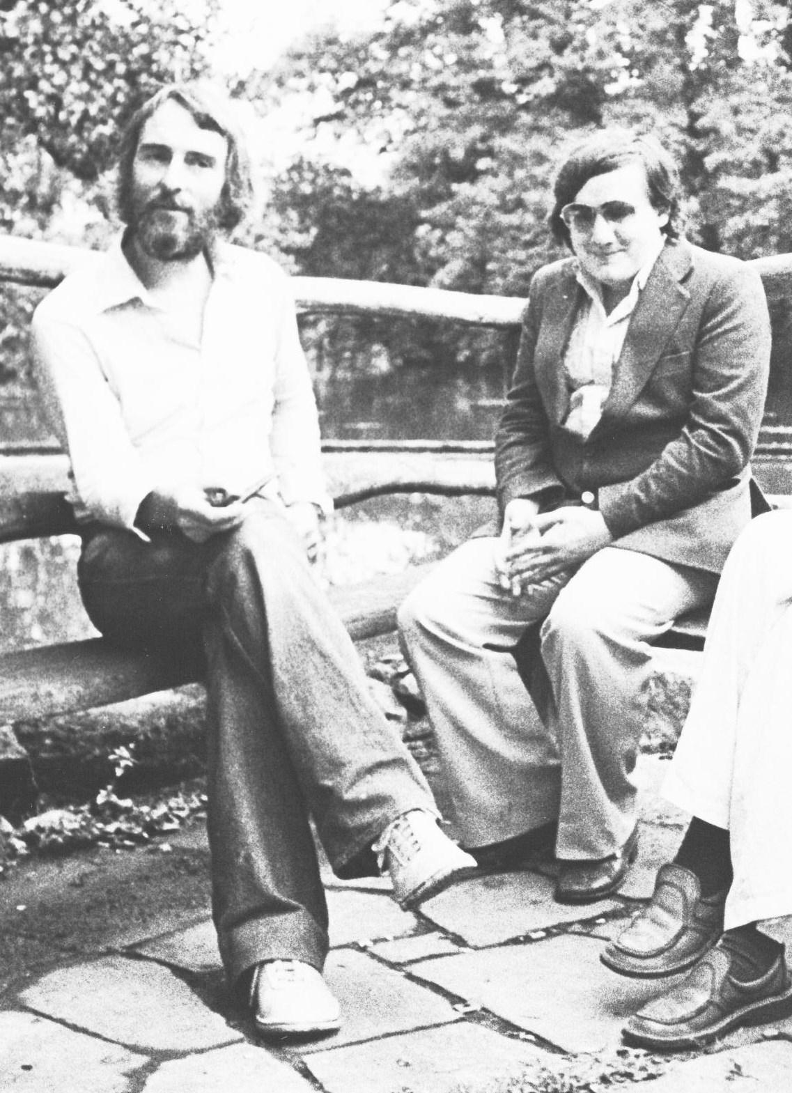 Adrian Kendon and Pete Jacobsen