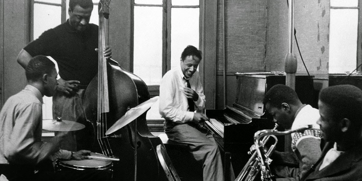 A Horace Silver quintet in rehearsal