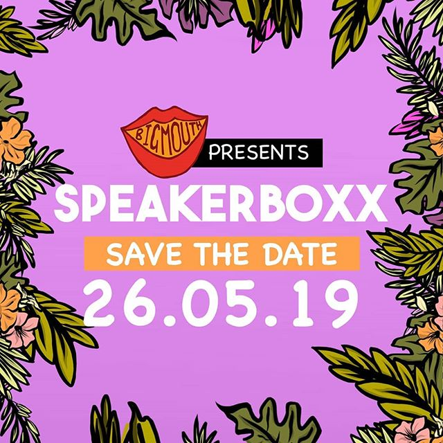 🎶 SAVE THE DATE 🎶  Producing a new night coming to you soon... in the meantime go give @_speakerboxx_ a follow.  Artwork: @fogg.ish . . . . . #standupcomedy #comedy #musicalcomedian #beatboxing #londoncomedy #coventgarden #womeninbuisiness #whatsonlondon #londoncomedy #events #cocktail #londoncocktail #ukcomedy