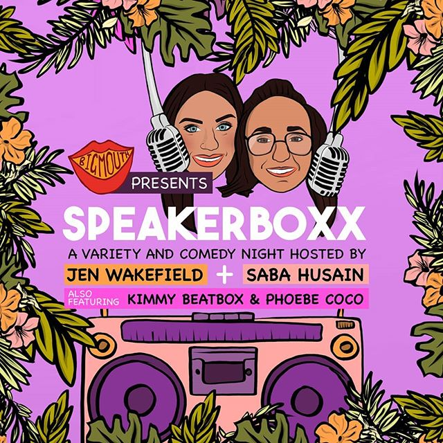 🎵🎵 SPEAKERBOXX 🎵🎵 . On the 26th May @_speakerboxx_ will run its very first comedy variety night at @lagocciacoventgarden with canapes and cocktails sponsored by @hendricks before hand, that's right honeys, we're treating to some bougie shit, you earnt your stripes! . Ease yourself into the final bank holiday with this treat, dont say we don't spoil ya! . Usual drill bitches, link in bio xo