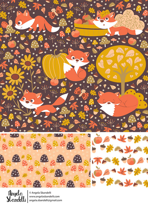 foxy fall by Angela Sbandelli