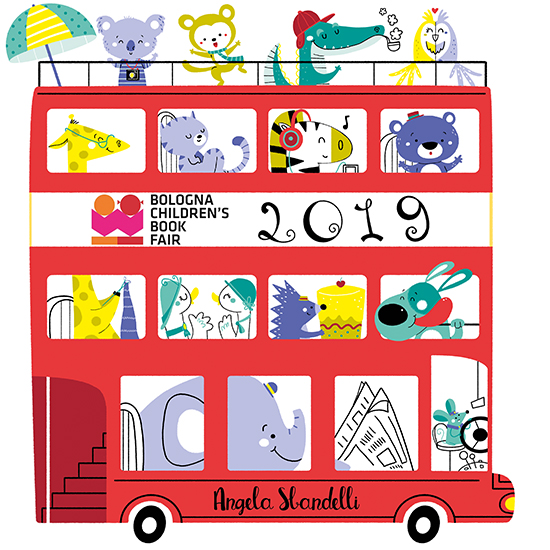 Angela Sbandelli Going to Bologna Children's Book Fair