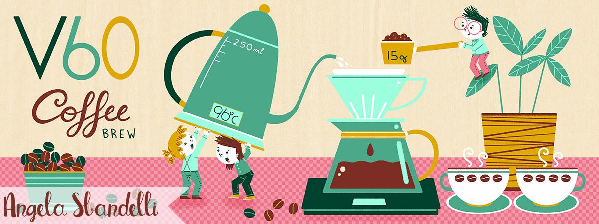 V60 Coffee Brew