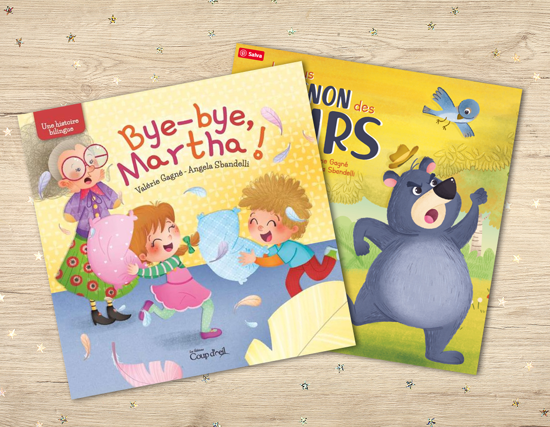 Bilingual Books Editions Coup D'Oeil