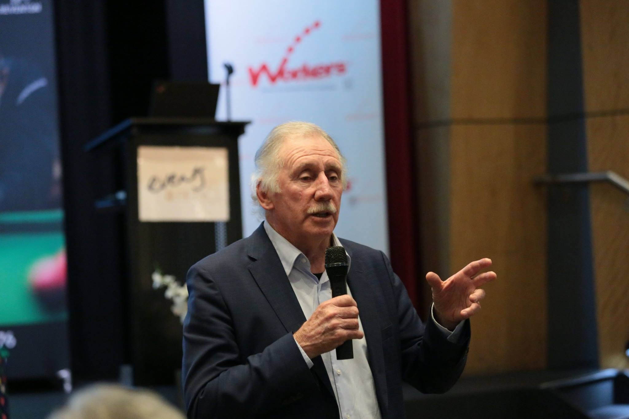 (2018) ABSC Patron - Ian Chappell