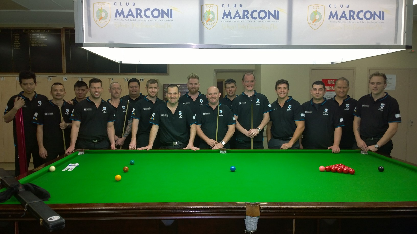 2015 Oceania snooker stars held at club marconi during the south pacific open snooker chapionship