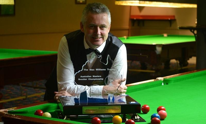 Glen wilkinson - australian masters snooker champion