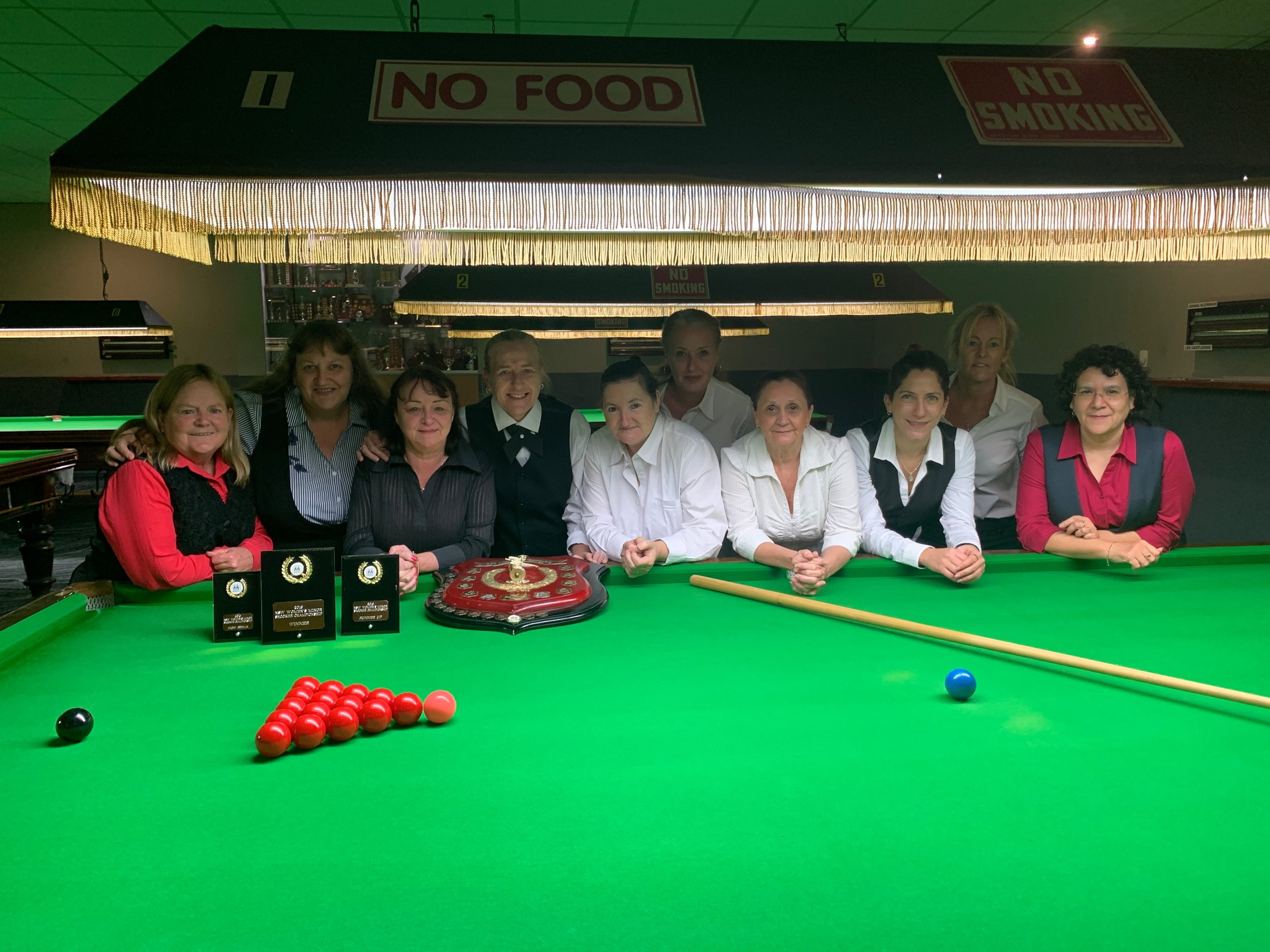 2019 NSW State women's minor snooker championship at Club toukley rsl