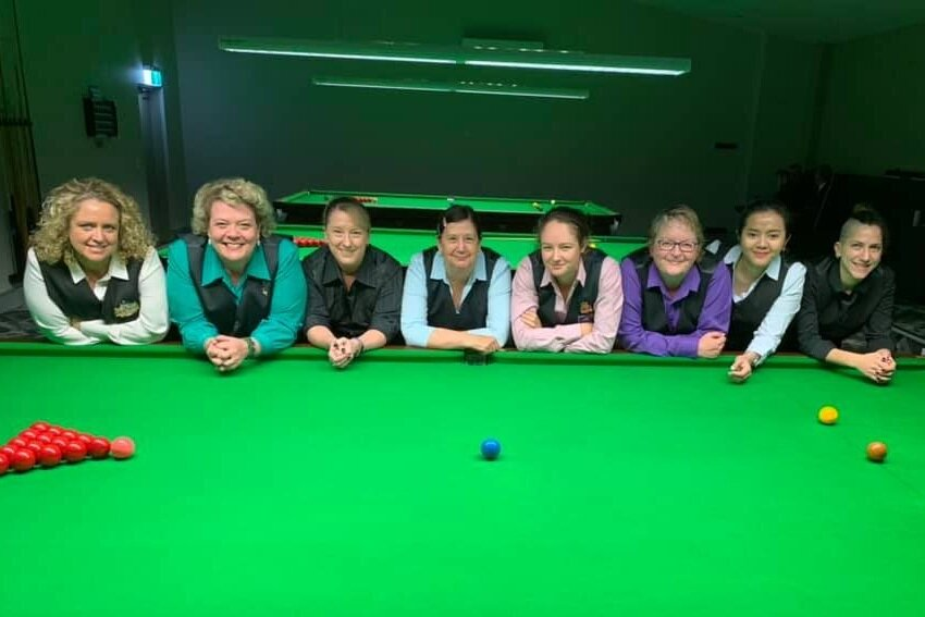 2019 Quarter Finalists: Carlie Tait, Rhonda Knight, Christine Firth, Shirley Ryan, Jessica Woods, Annette Clifford, Kenny Tirza & Joey Tohme