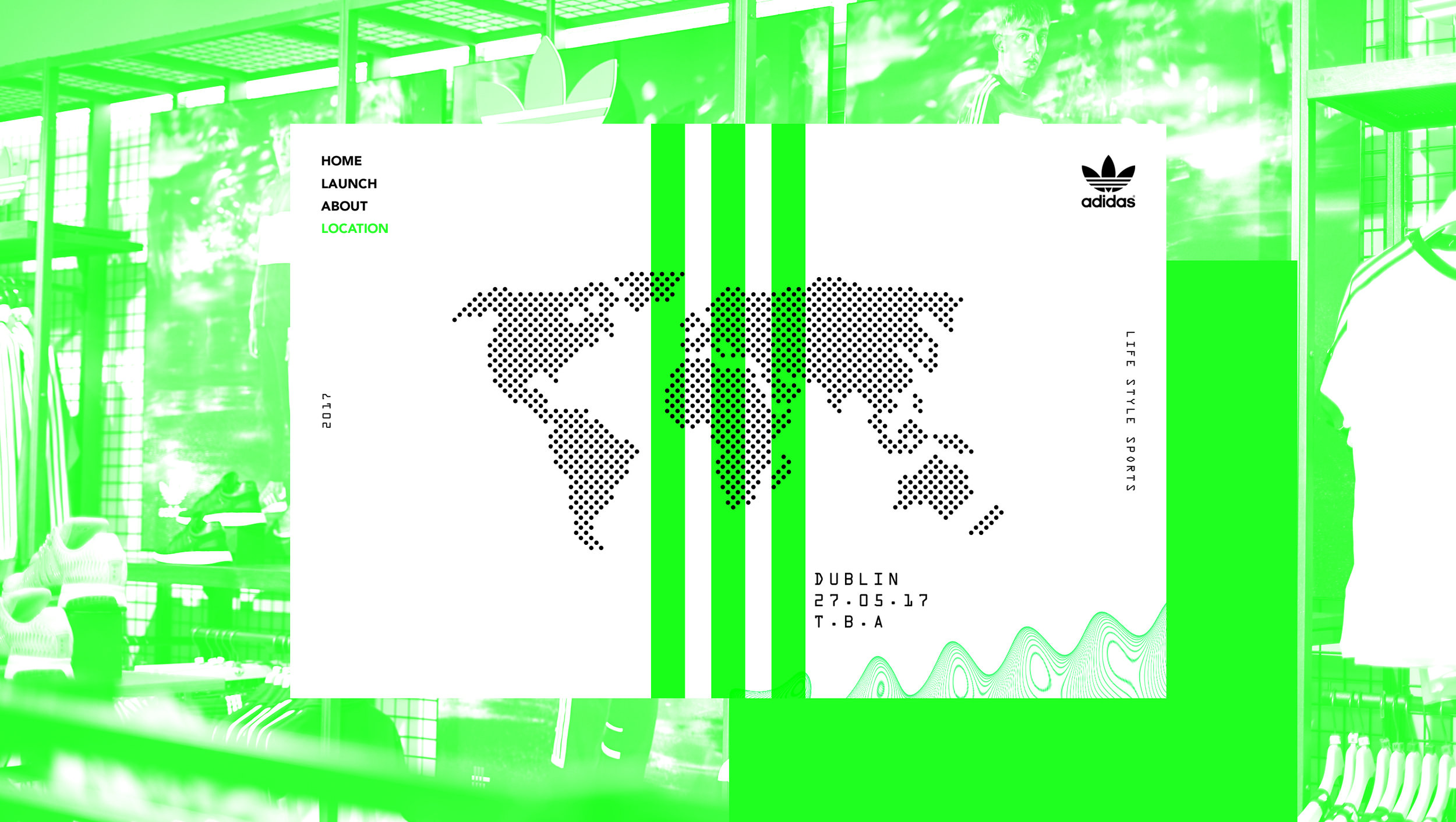 para justificar Detenerse Derribar  Dublin Grafik Co.—Adidas Original | Campaign Design | Content Creation
