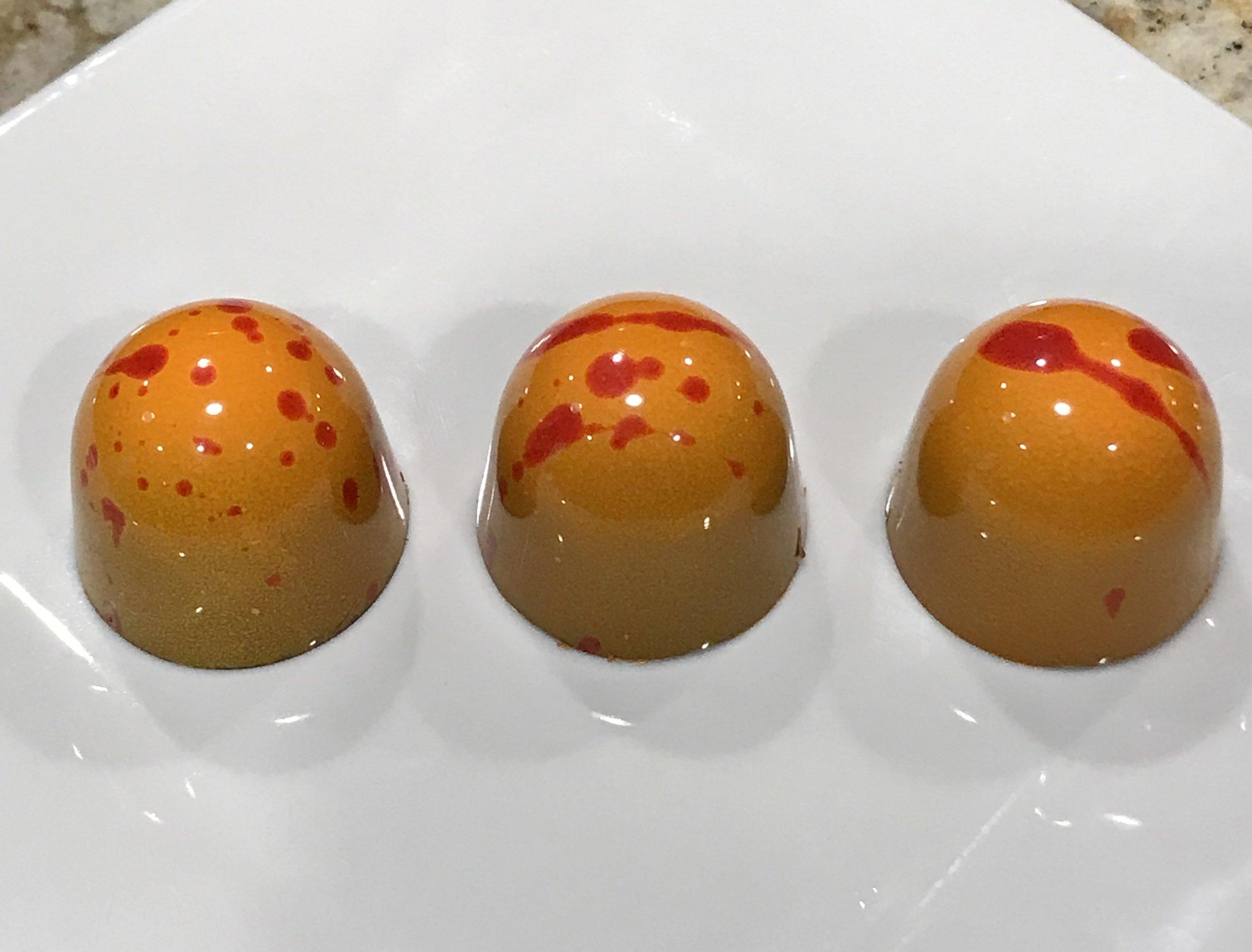 Mandarin with Hazelnut Cream.JPG