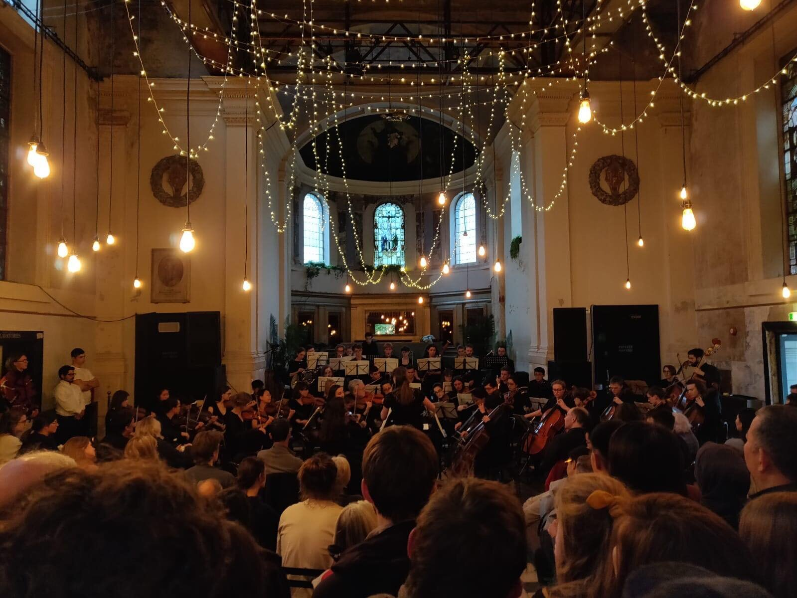 OAO perform Dvorak Symphony No. 9 in Freud - image courtesy of Jenny Wang