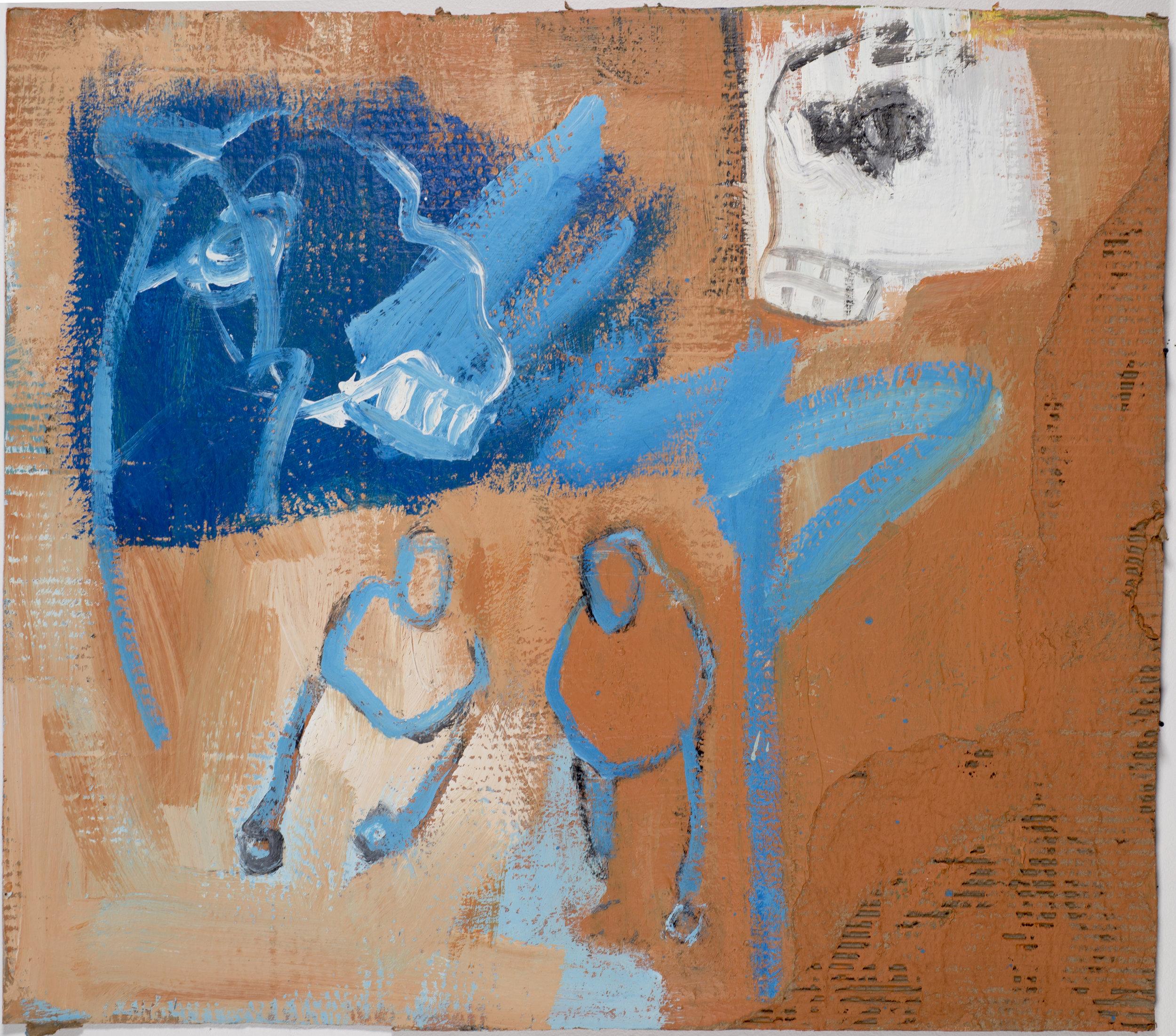 Untitled (Four Horses) , 2018.