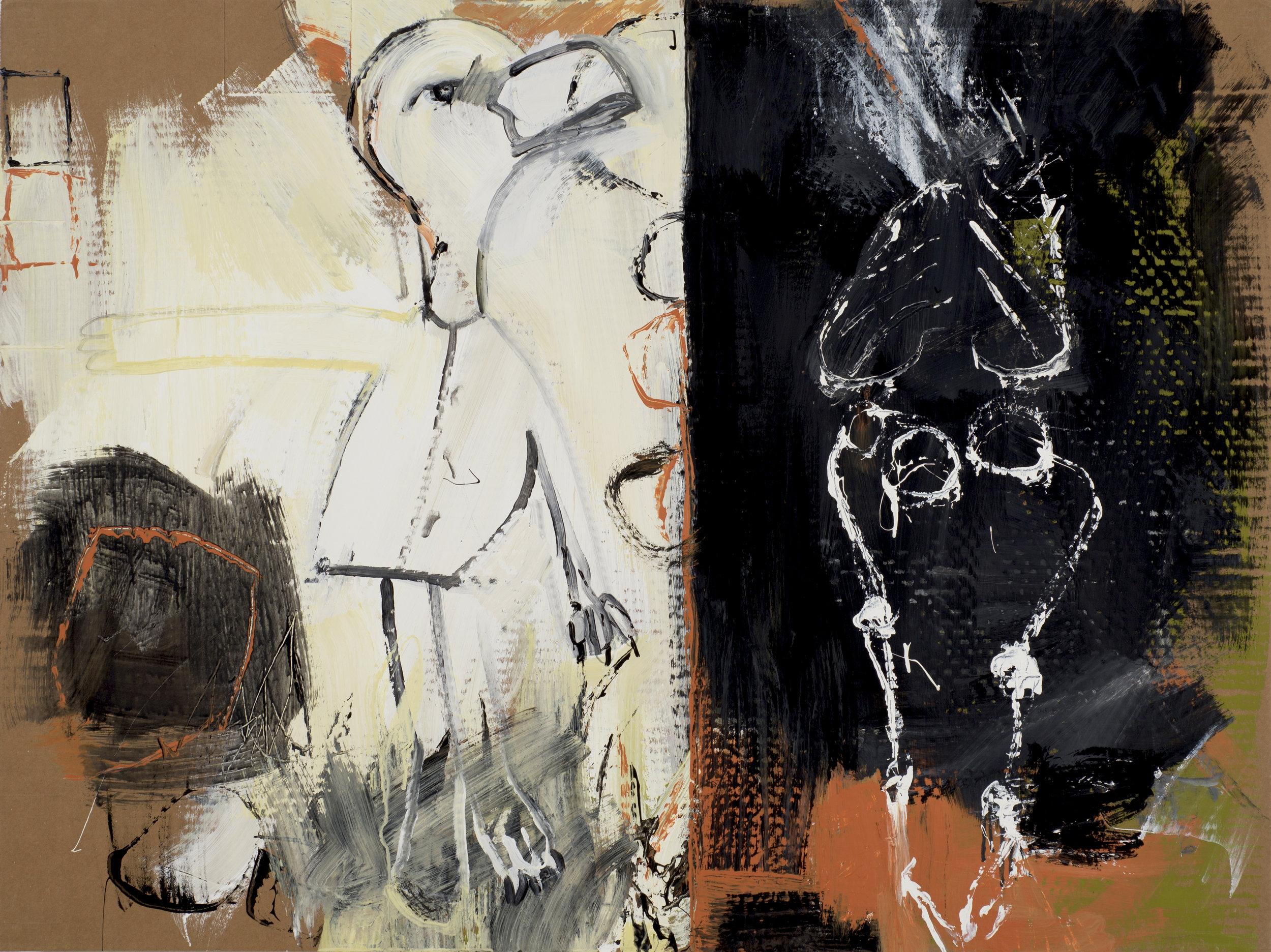 Untitled (Skeleton) , 2018.