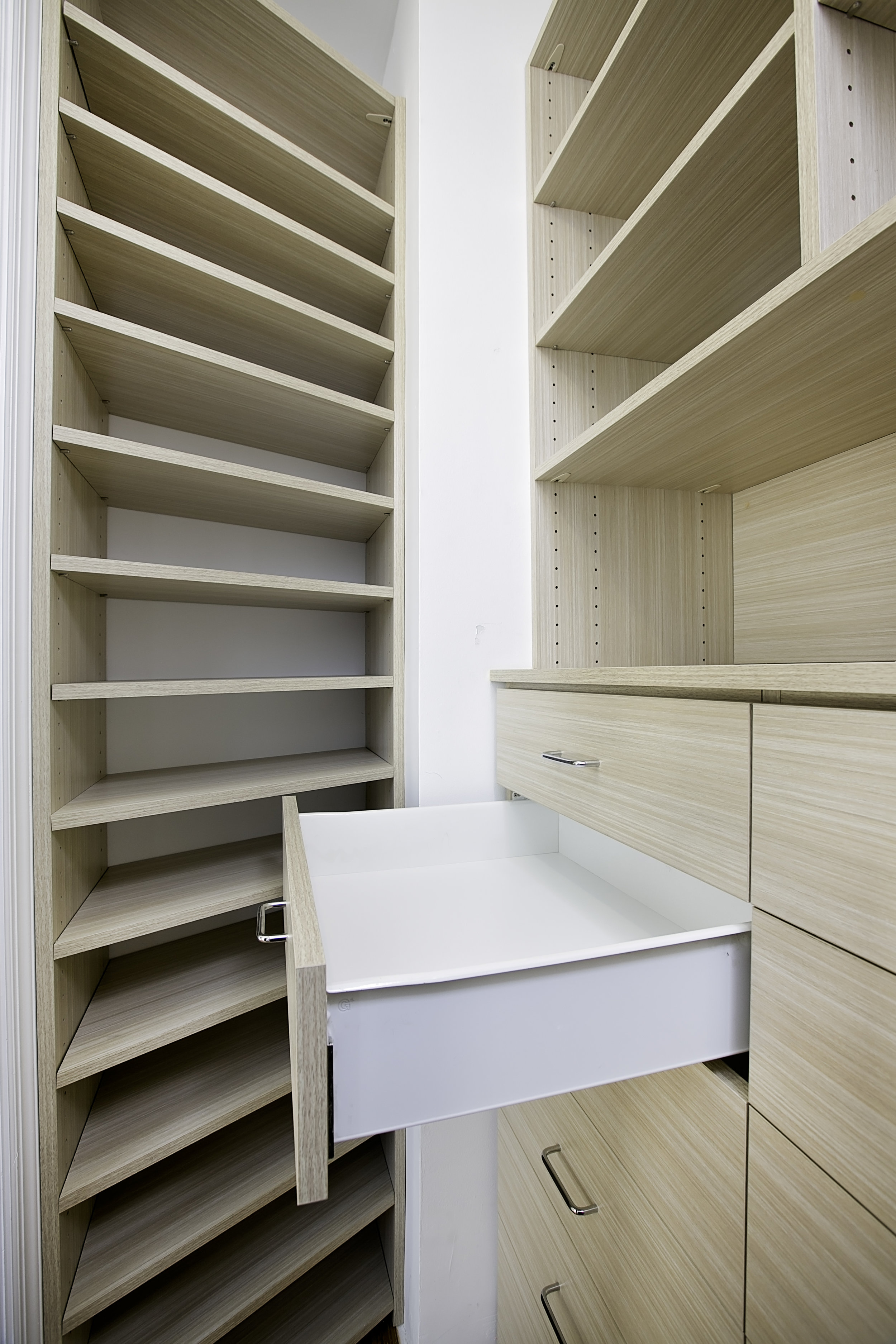 Challenging Spaces - Conquer every odd angle and use it for storage!