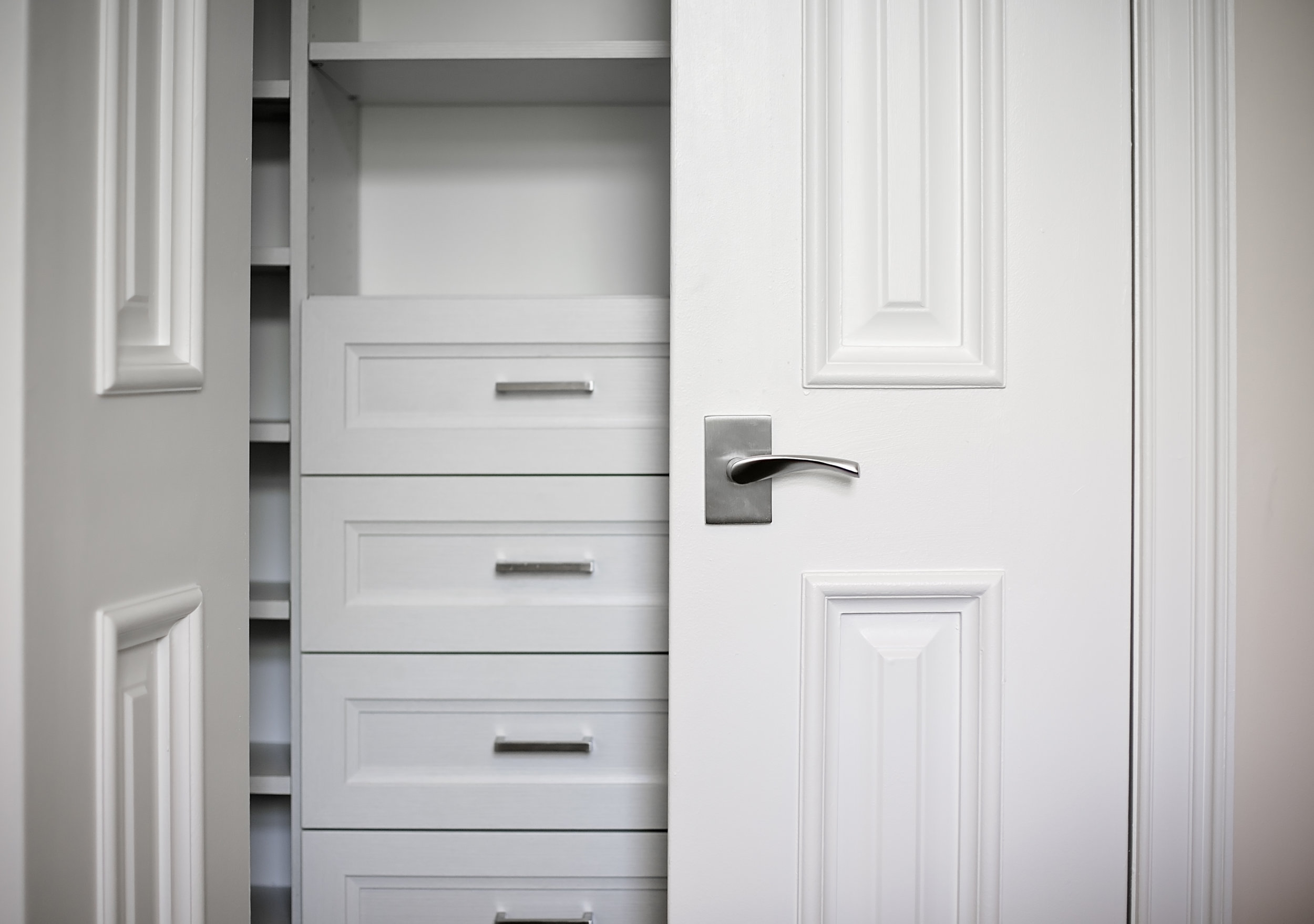 Any size space - Create more storage then you imagined possible in smaller closets.